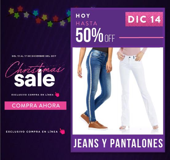 6e88519b0d37f Compra en el Christmas Sale Ofertas en Jeans y Pantalones
