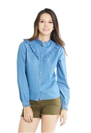 camisasyblusas-azulmedio-e156290-1