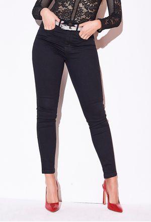Denim Mujer Recta Jeans Para Ela Tipo Bota 0HxwUFq