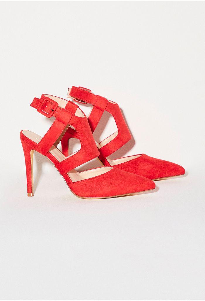 4cbc945c zapatos-rojo-E361351-1 · Stiletto con hebilla forraday capellada